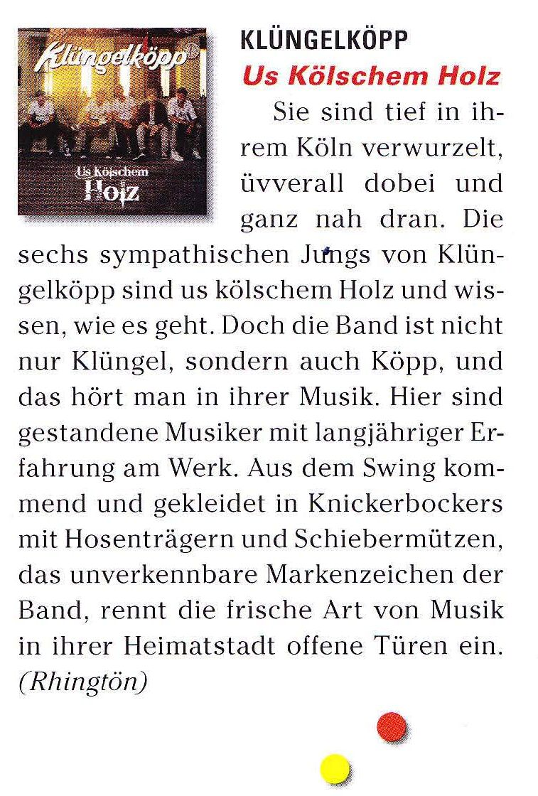 20150118 TOP Magazin CD Kritik